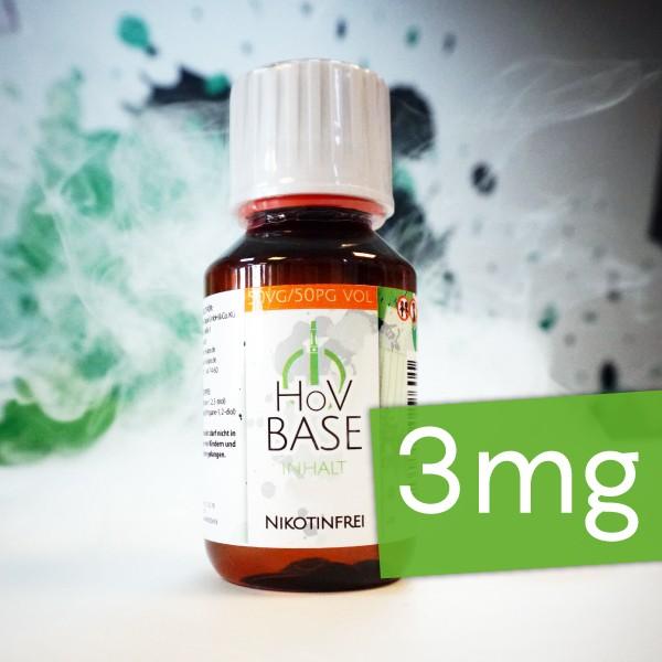 HoV Base ♥ 50/50 VG/PG ✔ 3mg Nikotin  ✔ Als im Set mit Base verfügbar ✔ Schneller Versand ✔ In den Shops verfügbar ✔