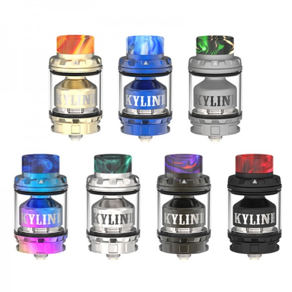 Kylin V2 RTA von VandyVape ♥ Single-/DualCoil RTA ✔ 3ml/5ml Tank ✔ Besondere AirFlow ✔ Massiv Dampf und viel Geschmack ✔ Auch in unseren Geschäften ✔