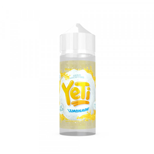 Yeti Lemonade Shortfill Liquid