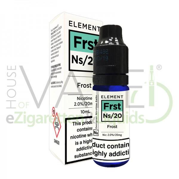Frost Frst Ns20 Liquid von Element ♥ Frische Minz-Menthol-Kombination ✔ Mit Nikotinsalz ✔