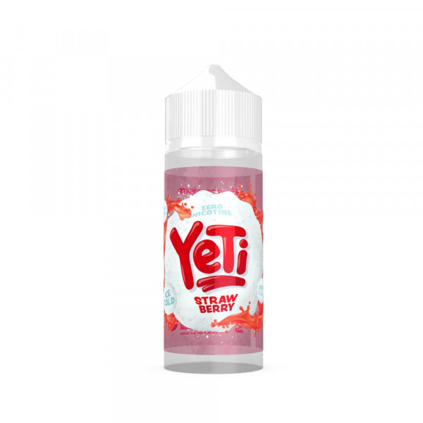 Yeti Strawberry Shortfill Liquid