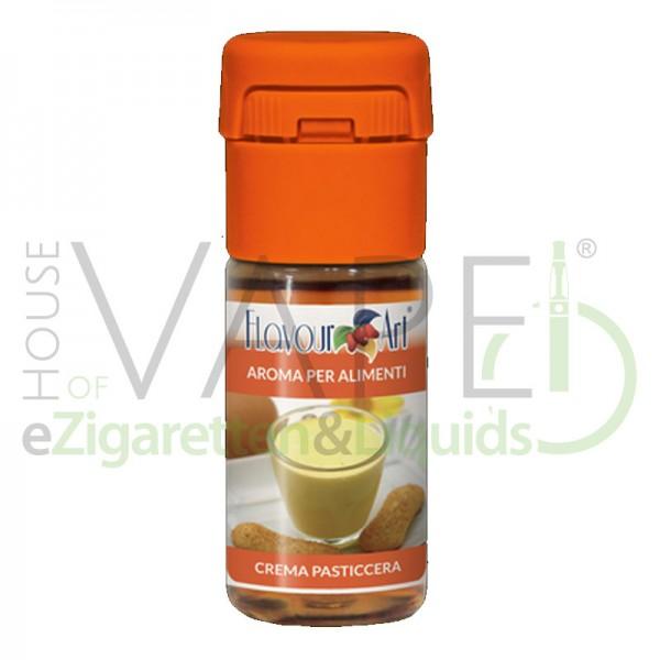 Vanillepudding Aroma von FlavourArt ♥ Süß, sahnig, cremig ✔ Schneller Versand ✔ 3-6% Dosierung bei 5-7 Tag Reifezeit ✔