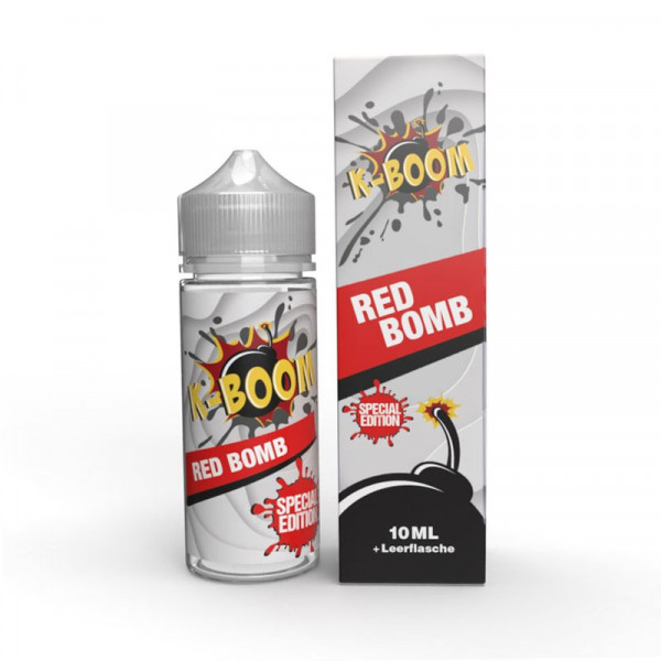 K-Boom Special Edition Red Bomb