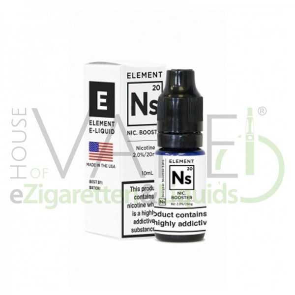 Element Ns20 Nikotinsalz Shot ♥ 20mg/ml ✔ 10ml ✔ 65%Vg 35%PG ✔