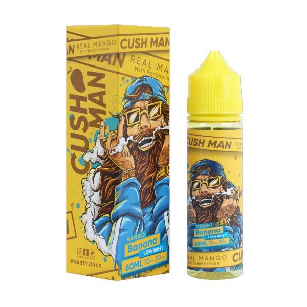 Cush Man Mango Banana Liquid von Nasty Juice ♥ Shortfill ✔ Mango, Banane, leichte Minze ✔ In unseren Shops testen ✔