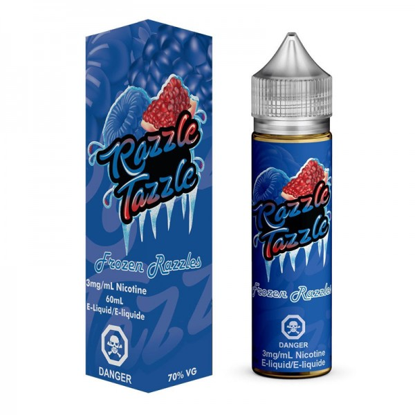 Razzle Tazzle Aroma ♥ Von Sovereign Juice ✔ Blaue Himbeeren, Granatapfel, Koolada ✔ Longfill-Aroma: Einfach und schnell anmischen ✔ Schneller Versand ✔ Auch in unseren Shops ✔