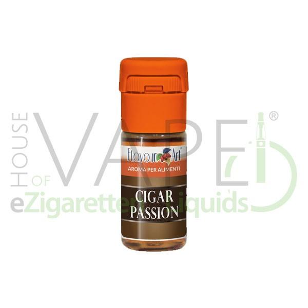 Cigar Passion von FlavourArt ♥ Feinwürziger Zigarrentabak ✔ Schneller Versand ✔ 2-5% Dosierung bei 2-7 Tag Reifezeit ✔ Ab 50€ Versandkostenfrei ✔