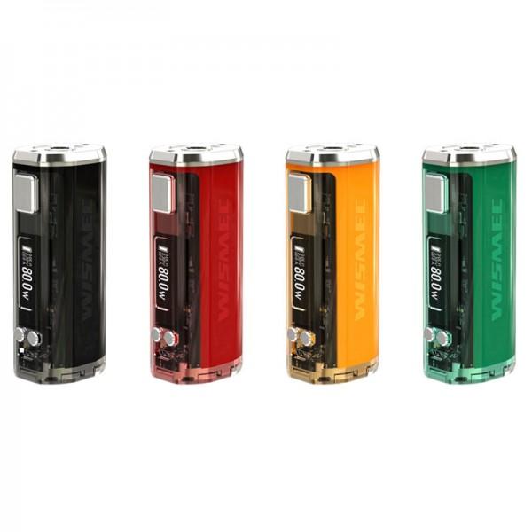 Wismec Sinuous V80 ♥ Kompakter Akkuträger ✔ Für 1x18650 Akku ✔ 80 Watt, TC, Bypass ✔ Display ✔ Auch in unseren Shops ✔