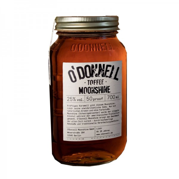 O'Donnell Moonshine Toffee (700ml, 25%vol.)