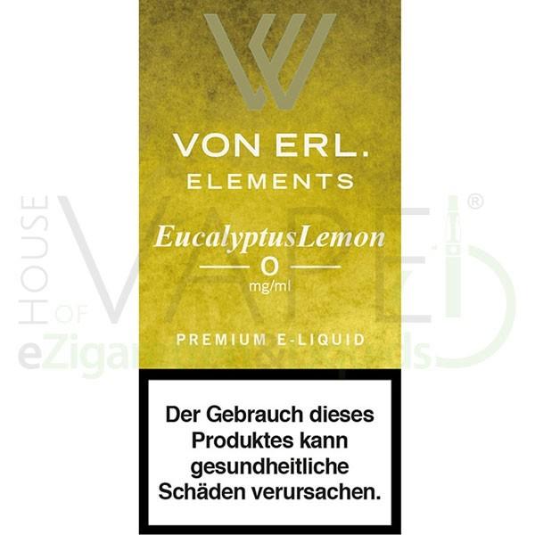 Eucalyptus Lemon Liquid von Von Erl/My Blue ♥ Frische Zitrone ✔ TOP Preis ✔ Schneller Versand ✔ Günstig bestellen ✔