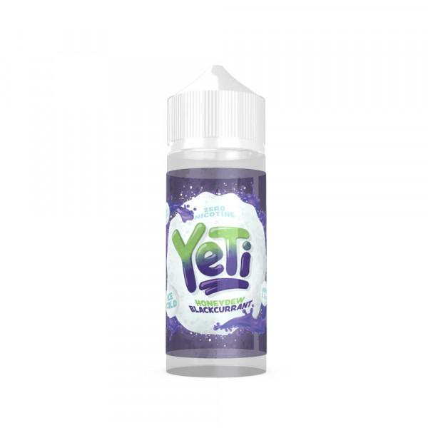 Yeti Honeydew Blackcurrant Shortfill Liquid