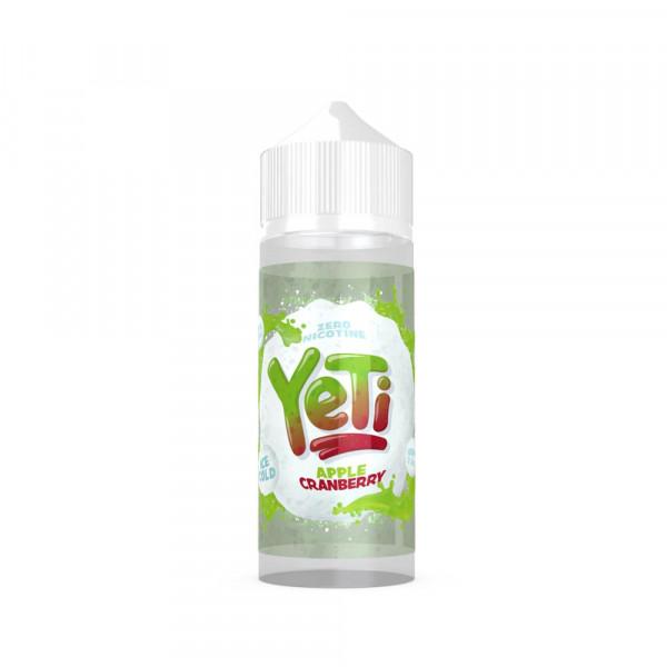 Yeti Apple Cranberry Shortfill Liquid