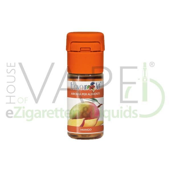Mango von FlavourArt ♥ Fruchtig-süß und reif ✔ Schneller Versand ✔ 2-5% Dosierung bei 2-5 Tag Reifezeit ✔ Ab 50€ Versandkostenfrei ✔