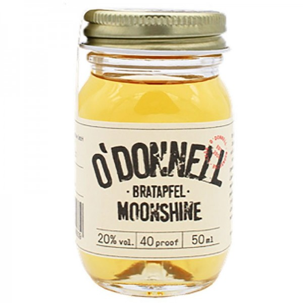 O'Donnell Moonshine Bratapfel Shot (50ml, 20%vol.)