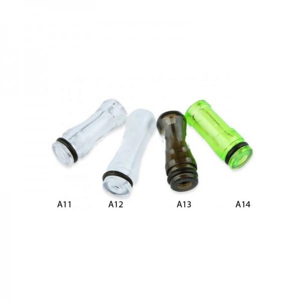 Transparentes DripTip (Mundstück) ♥ 510er Anschluß ✔ Stylisch ✔ Verschiedene Versionen  ✔ Auch in unseren Shops verfügbar ✔ Schneller Versand ✔