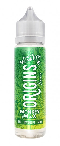 Lemur Liquid von 12Monkeys Origins Shortfill