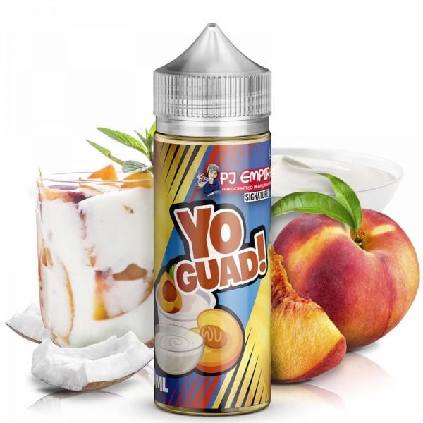 Yo!Guad von PJ Empire (Signature Line) ♥ Apfel, Pfirsich, Joghurt ✔ Longfill Aroma: Einfach mischen ✔ Auch in unseren Shops ✔ Schneller Versand ✔