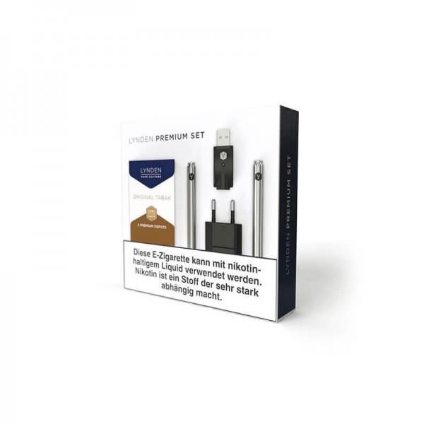 Lynden Premium Set ♥ Wie eine echte Zigarette ✔ Ideal für Einsteiger ✔ 2 eZigaretten im Set ✔ Auch in unseren Geschäften ✔ Schneller Versand ✔