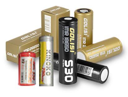 Golisi S6: Viele verschiedene Batterien kompatibel