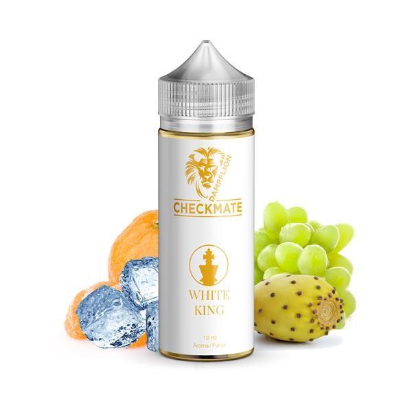 White King Aroma von Dampflion ♥ Mandarine, Traube, Kaktusfeige, Koolada ✔ 8-10% ✔ Inkl. 120ml Leerflasche ✔ Auch in unseren Shops ✔ Schneller Versand ✔