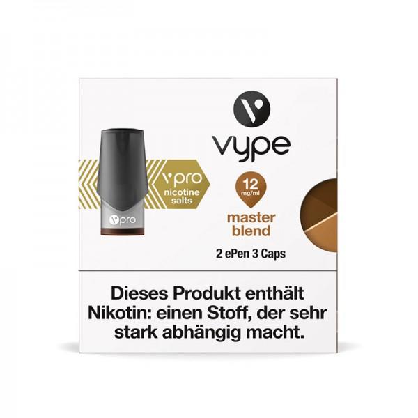 Vype ePen 3 vPro Caps Master Blend 2er Pack