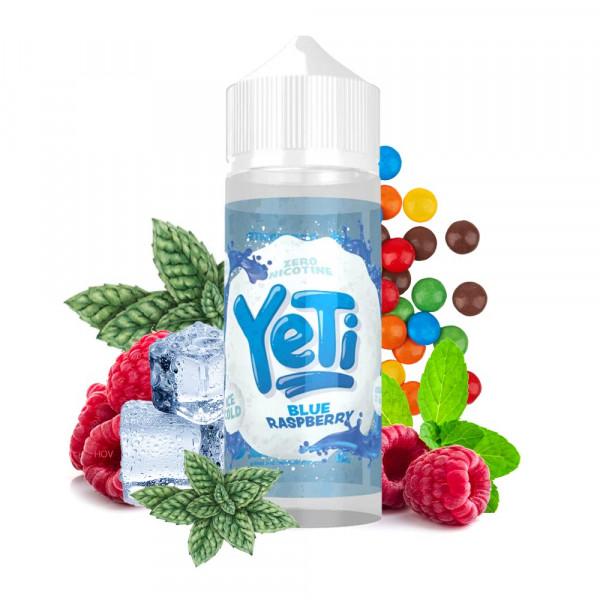 Yeti Blue Raspberry Shortfill Liquid