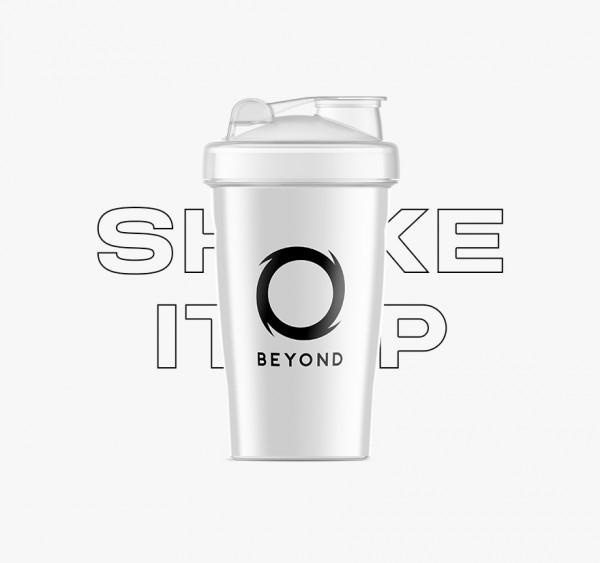 Weißer klassischer Shaker