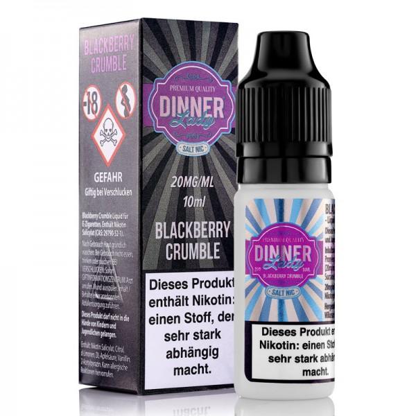DinnerLady Blackberry Crumble Salt Nic 20mg