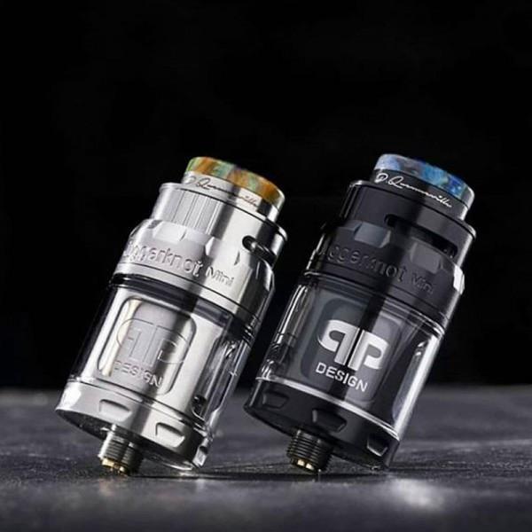 JuggerKnot Mini RTA von QP Design ♥ Hochwertiger RTA ✔ Single-Coil-Deck ✔ 2ml- und 4,5ml-Glas ✔ TopFilling ✔ Auch in unseren Läden ✔ Schneller Versand ✔