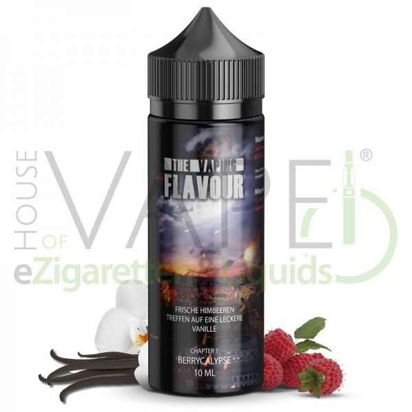 The Vaping Flavour Aroma Berrycalypse ♥ Himbeere, Vanille ✔ Longfill✔ 10ml ✔