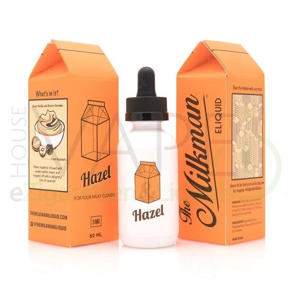 Hazel Liquid von The Milkman ♥ 60ml ✔ Geröstete Haselnüsse mit Vanillecreme ✔ Schneller Versand ✔ ab 50 € versandkostenfrei