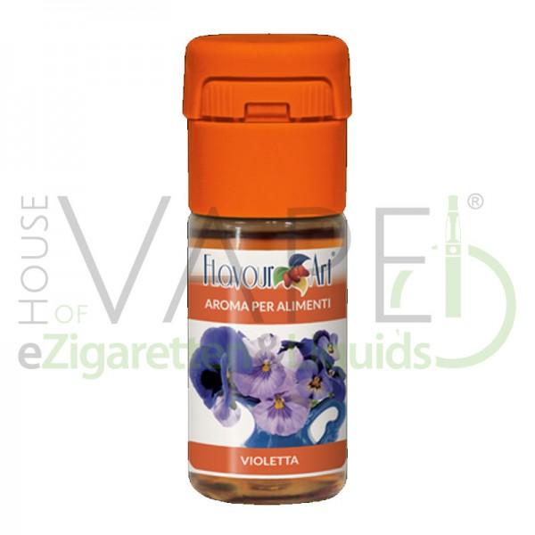 Veilchen (Violet) von FlavourArt ♥ Blumig frisch ✔ Schneller Versand ✔ 2-5% Dosierung bei 3-5 Tag Reifezeit ✔