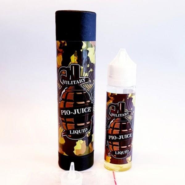 Military Liquid PIO-Juice ♥ Traubensaft mit Johannisbeeren ✔ 60ml Longfill: Einfache Dosierung ✔ Schneller Versand ✔ Auch in unseren Shops ✔