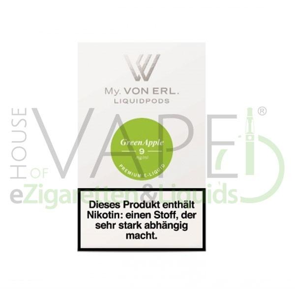 Green Apple LiquidPOD ♥ Passen in MY Von Erl und My Blue ✔ TOP Preis ✔ Schneller Versand ✔ Günstig bestellen ✔