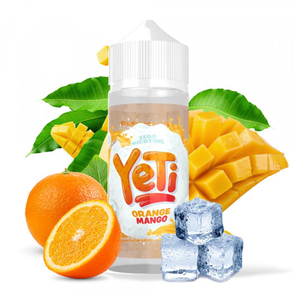 Yeti Orange Mango Shortfill Liquid