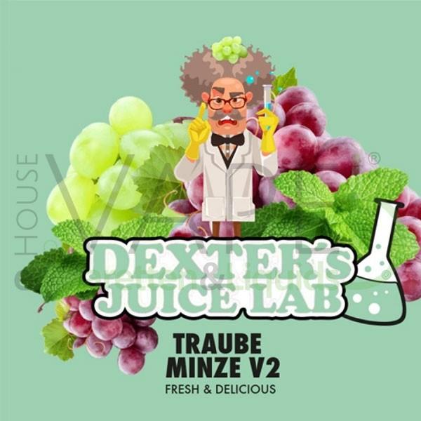 Traube Minze V2 Aroma von Dexter ♥ Traube, Menthol ✔ 5-10% ✔ 10ml ✔ Auch in unseren Shops ✔