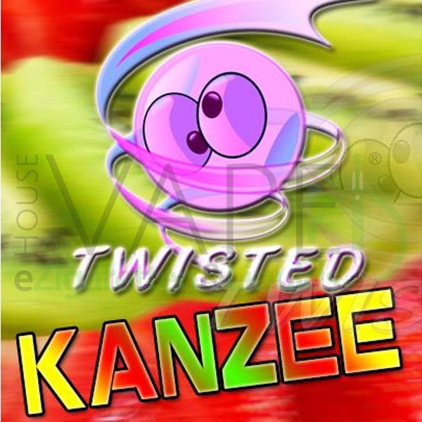 Kanzee Aroma von Twisted Vaping ♥ Wassermelone, Kiwi, Erdbeere ✔ 10-15% Dosierung ✔ Auch in unseren Shops ✔ Ab 50€ versandkostenfrei ✔