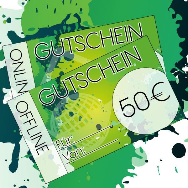 Gutschein 50 € für alle House of Vape Ladengeschäfte ♥ Auf alle Produkte einlösbar ✔ eZigaretten, Liquids und Zubehör ✔