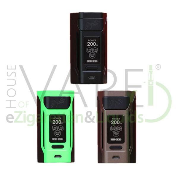 Wismec Reuleaux RX 2 20700 ♥ eZigaretten Akkuträger ✔ 200 Watt ✔ 2x18650 oder 2x20700 ✔ Kostenloser Versand ✔ Auch in unseren Shops ✔
