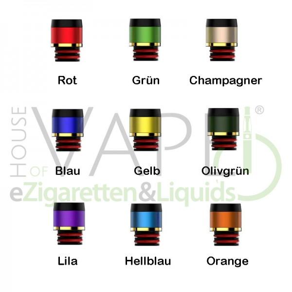 Crown 3 DripTip (Mundstück) ♥ 510er Anschluß ✔ Für die meisten Verdampfer ✔ Verschiedene Farben ✔
