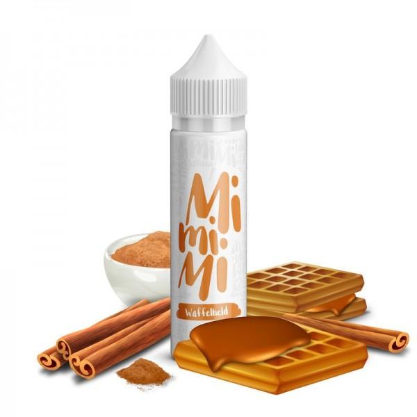 Waffelheld Liquid von MiMiMi Juice ♥ Waffeln, Zimt, Karamell ✔