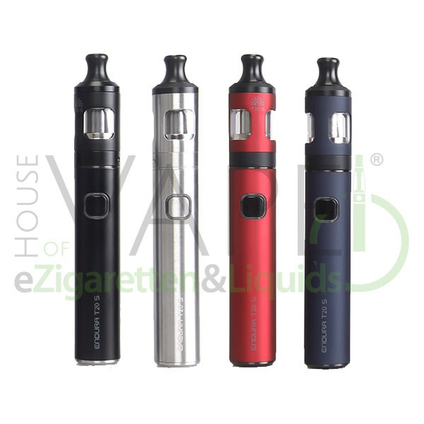 Endura T20-S von Innokin ♥ eZigaretten StarterSet ✔ Klein und handlich ✔ Zigarettenähnlich (MTL)✔ Auch in unseren Shops ✔ Schneller Versand ✔