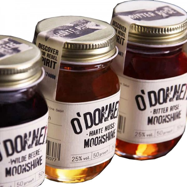 O'Donnell Moonshine Mini Set Likör (4x50ml)