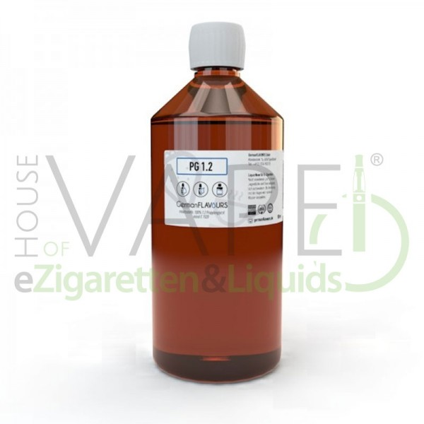 Propylenglycol von GermanFlavours ♥ 100% PG 1,2 USP E1520 ✔ Geschmacksneutral ✔