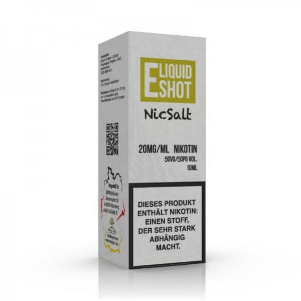 E-Liquid NicSalt Shot 20mg 50/50