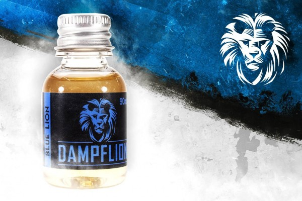 Dampflion Blue Lion Aroma ♥ Zitrone, Hibiskus, Menthol ✔ 7-9% ✔ 20ml ✔