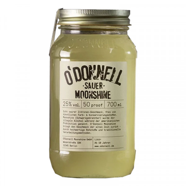 O'Donnell Moonshine Sauer (700ml, 25%vol.)