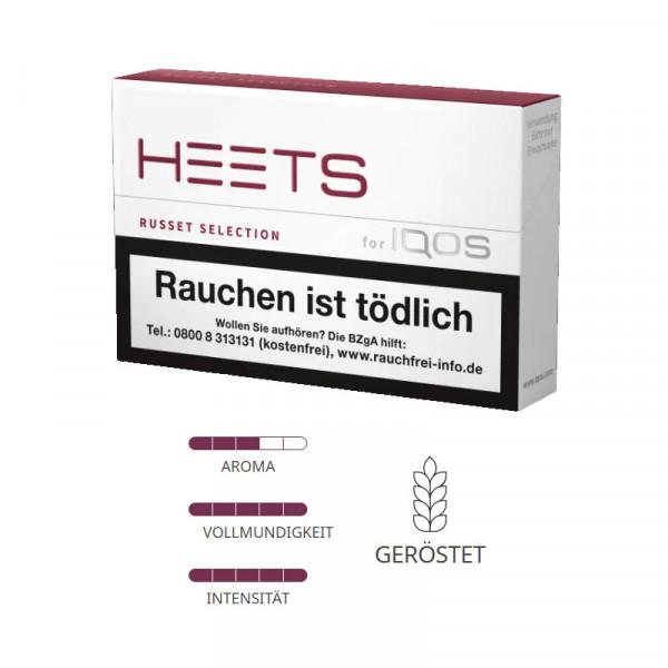 IQOS Heets Tabaksticks Russet Selection