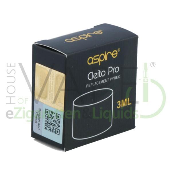 Aspire Cleito Pro 3,0ml Ersatzglas ♥ Einfacher Austausch ✔ Auch in unseren Shops verfügbar ✔ Schneller Versand ✔