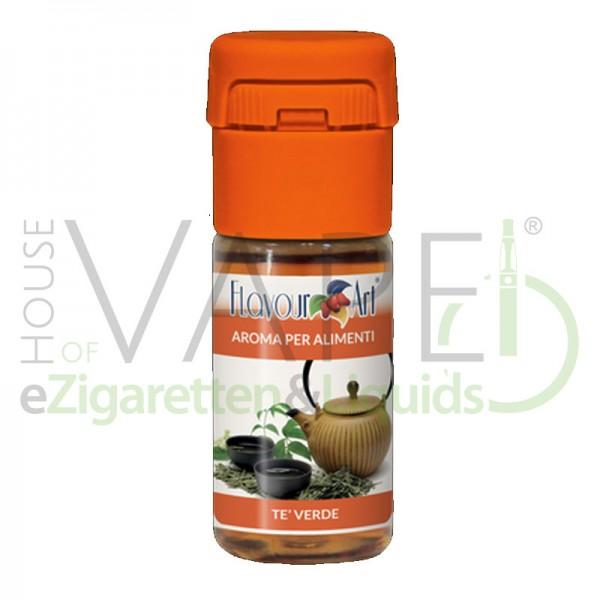Grüner Tee von FlavourArt ♥ Fruchtig ✔ Schneller Versand ✔ 2-6% Dosierung bei 4-7 Tag Reifezeit ✔